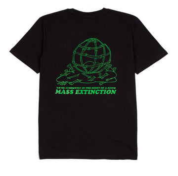 MASS EXTINTION TEE BLACK