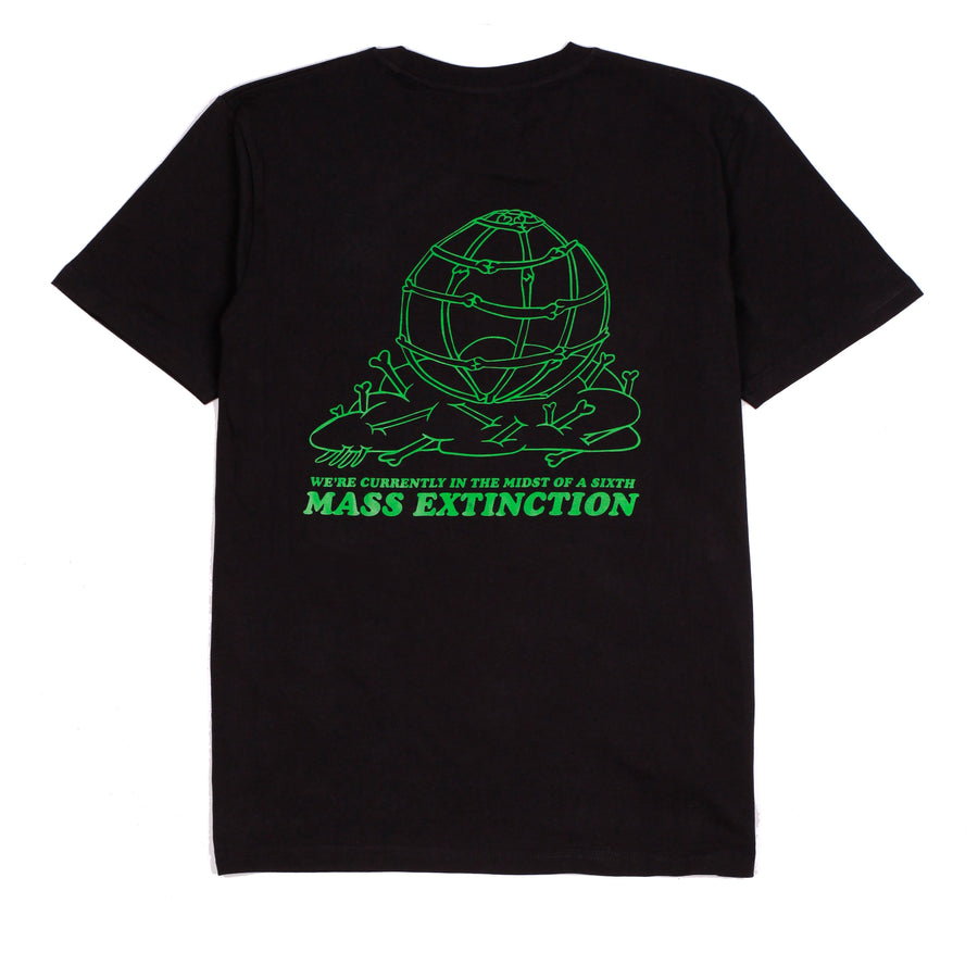 MASS EXTINCTION TEE BLACK
