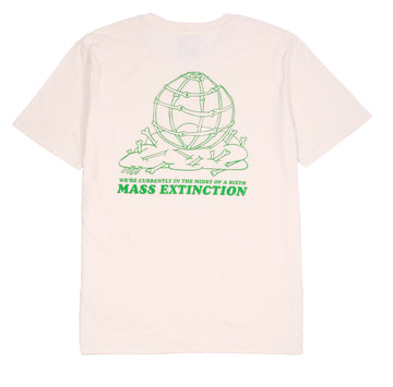 MASS EXTINTION TEE OFF WHITE