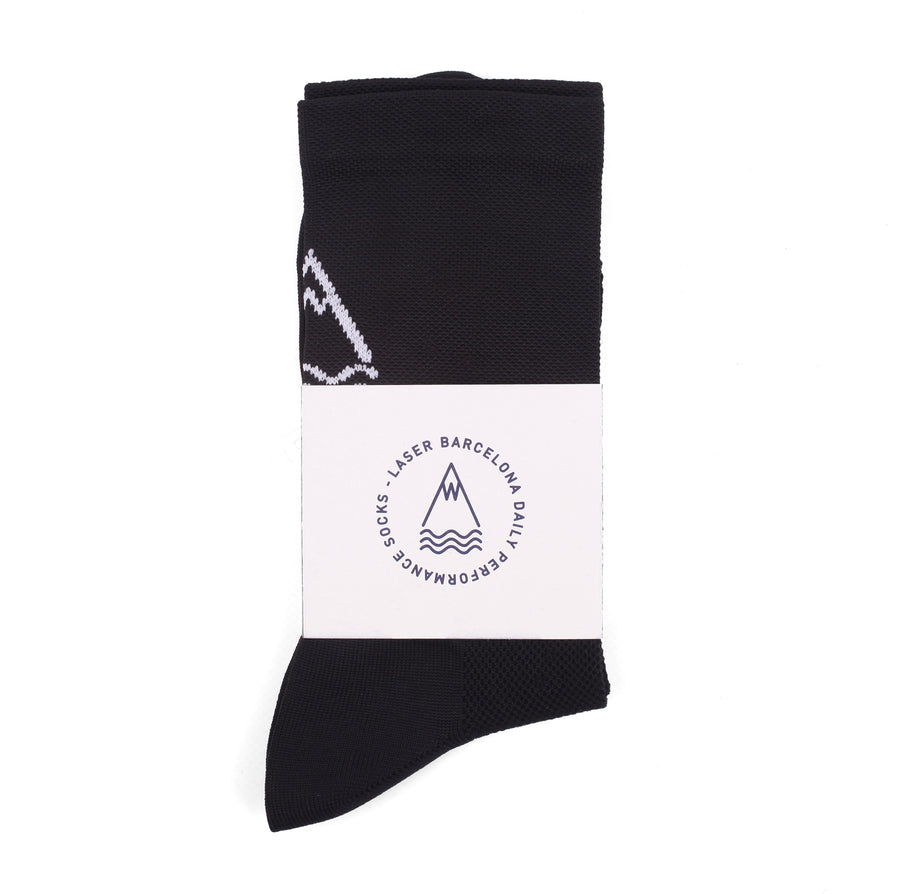 OG DAILY PERFORMANCE SOCKS BLACK