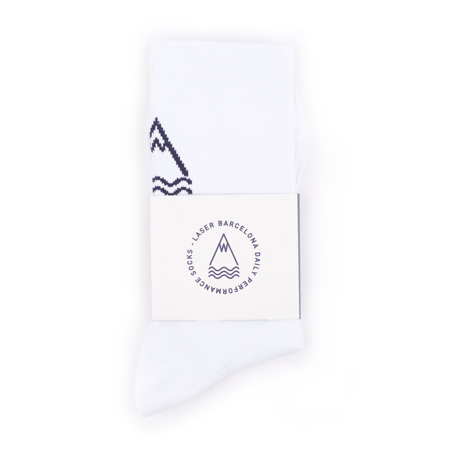 OG DAILY PERFORMANCE SOCKS WHITE