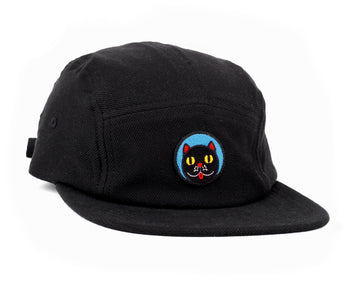 RAWAL ARTIST SERIES X CRISTINA DAURA 5 PANEL HAT BLACK