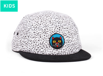 RAWAL ARTIST SERIES X CRISTINA DAURA KIDS 5 PANEL HAT WHITE