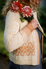 Load image into Gallery viewer, Golden Poppy Cardigan Kits with Pattern Book