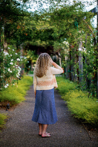 Golden Poppy Cardigan Kits with Pattern Book
