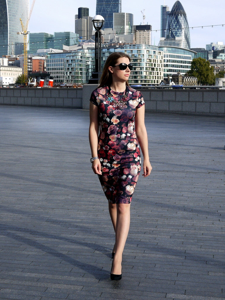 Capital Chic Patterns - Sangria Dress | Capital Chic Patterns