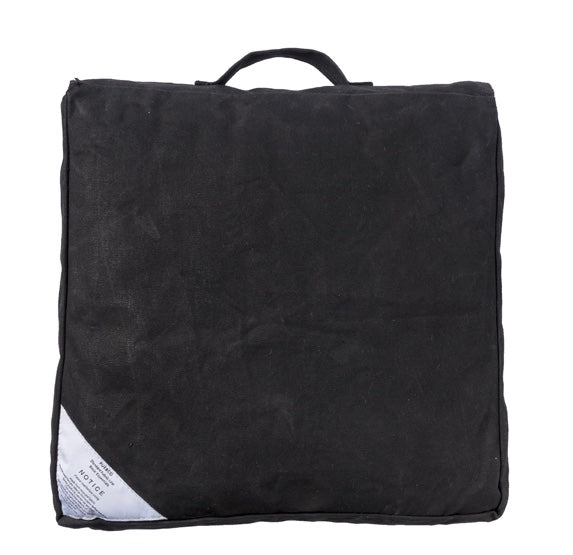 COUSSIN NOIR BLOCK CUSHION BLACK