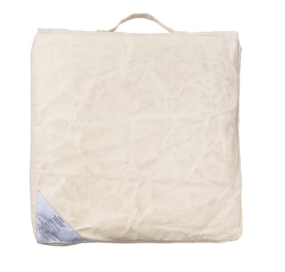 COUSSIN BLANC BLOCK CUSHION Off White