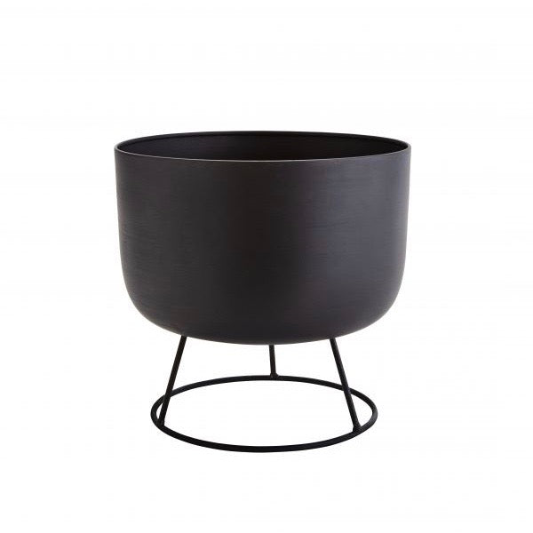POT METAL SUR SUPPORT FLOWER POT WITH ROUND STAND