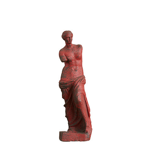 MARY Statue Madone Rouge