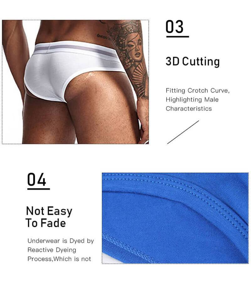 🔥3 PCS ONLY P1399🔥Stylish Men'S Underwear