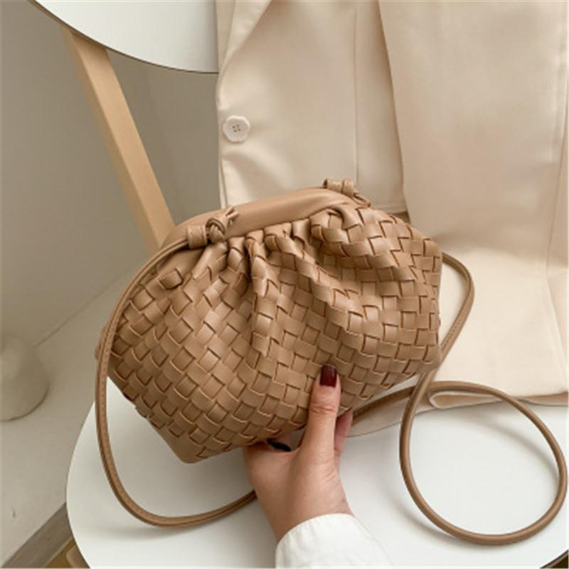 🔥2021 new fashion ladies woven handbag shoulder bag🔥