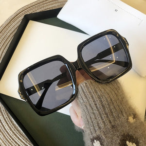 Retro Fashion Gradient Ladies Glasses