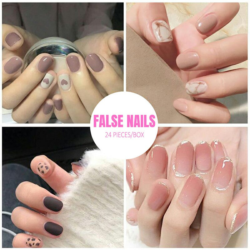 Ladies Nail ™ - 24 pieces