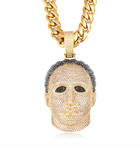 Iced Out Michael Myers Pendant