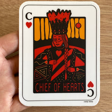 Load image into Gallery viewer, Chief of Hearts Sticker
