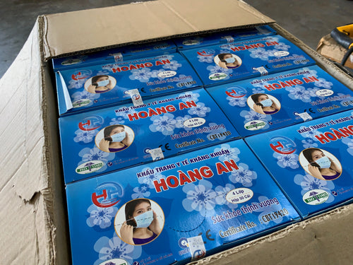 Hoang An 4-layers Mask (Blue) 50 pcs/box