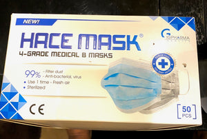Hace Mask 4 Layers Mask (Grey)