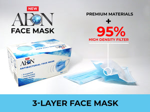 AEON Blue 3-Layer Face Mask