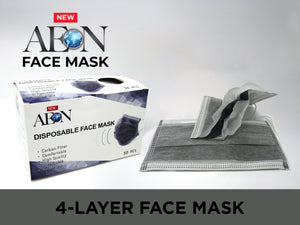AEON Carbon 4-Layer Face Mask