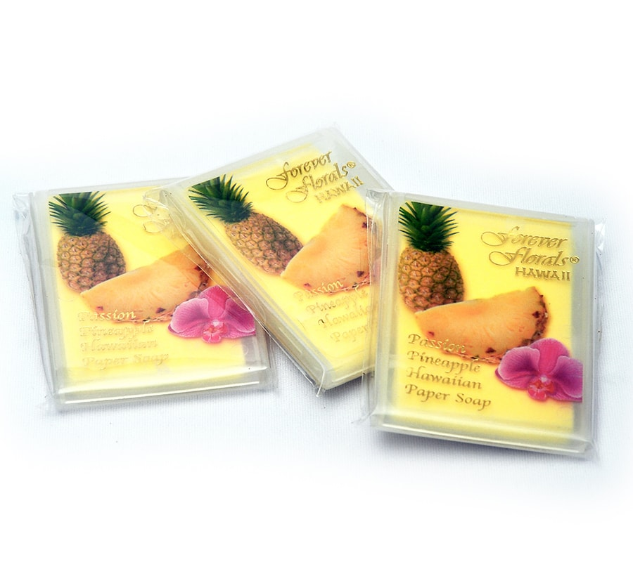 Passion Pineapple Paper Soap