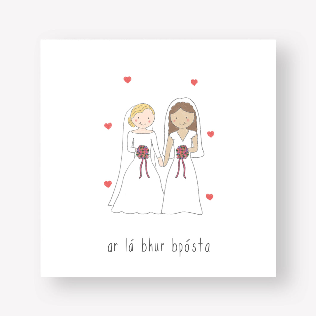 Happy Wedding Day Brides