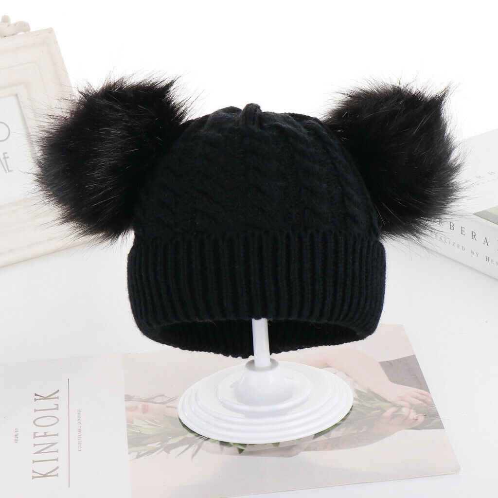 Kid Winter Pom-Pom Hat