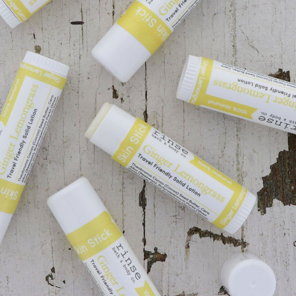 RINSE Skin Stick - Ginger and Lemongrass