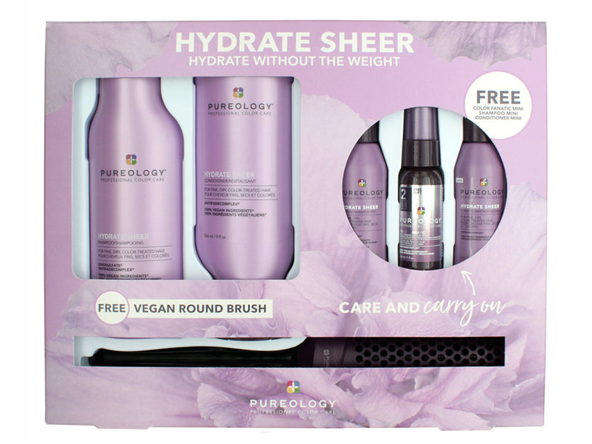 Pureology Hydrate Sheer Care & Carry On Kit