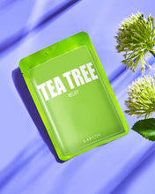 Load image into Gallery viewer, DERMA SHEET MASK TEA TREE