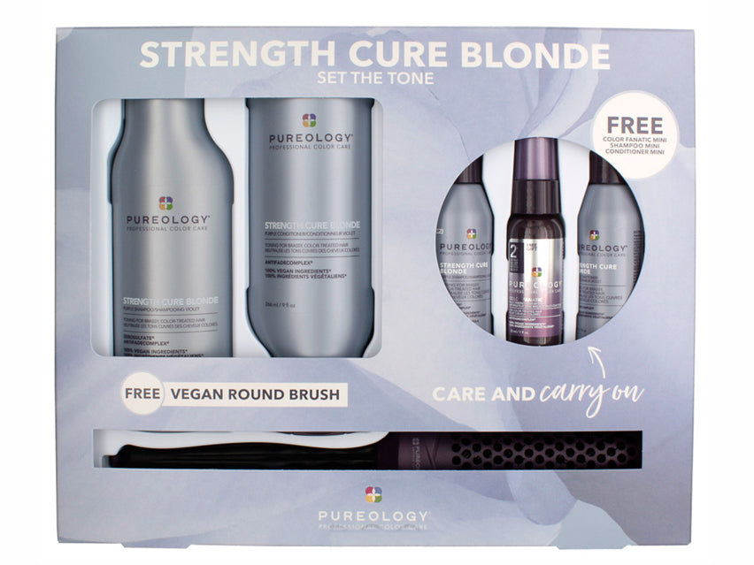 Pureology Strength Cure Blonde Care & Carry On Kit