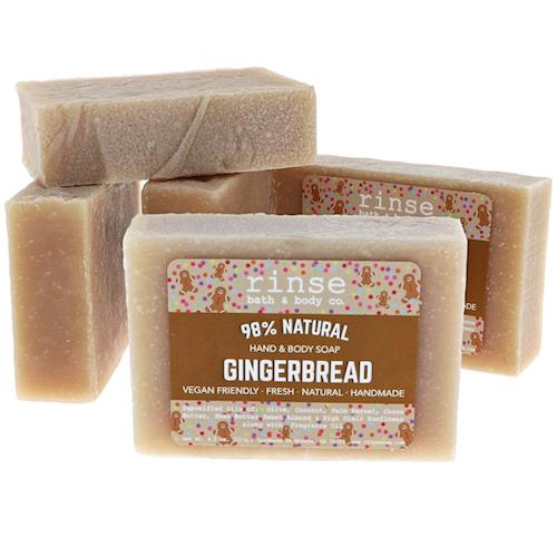 RINSE Hand and Body Soap - Gingerbread