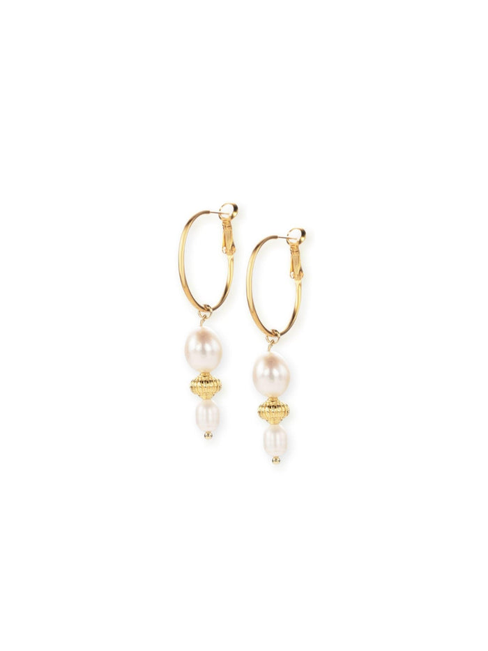 Mette Gold Earrings