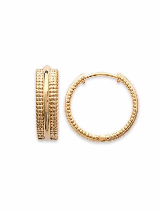 Daniella Gold Hoops