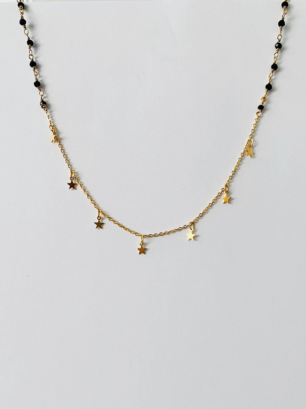 Trix Gold Necklace - Amillis
