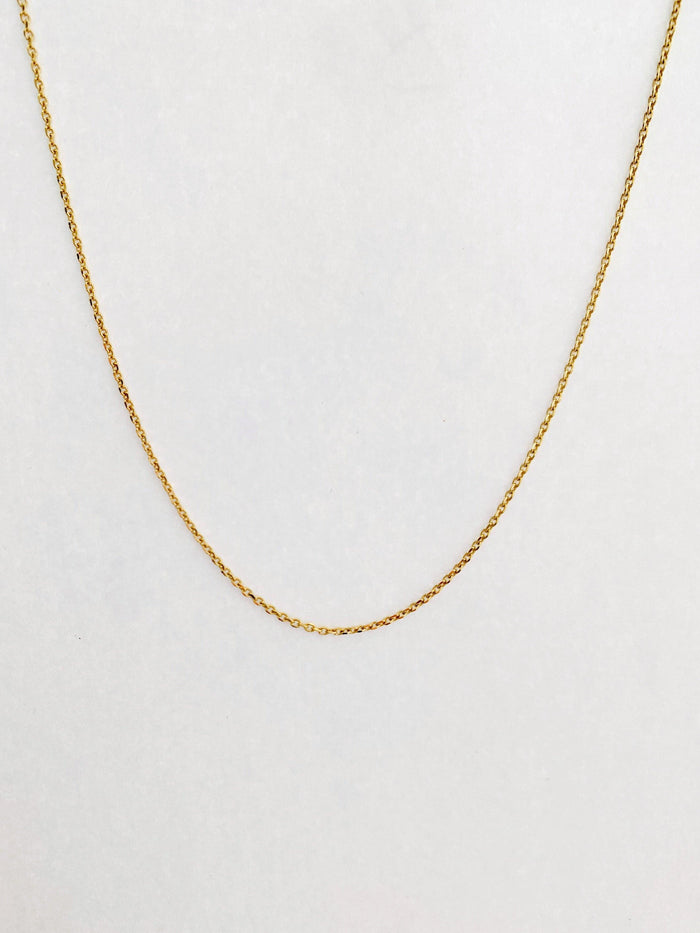 Lucy Gold Necklace - Amillis