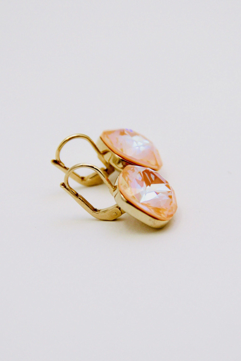 Delite Peach Earrings - Amillis