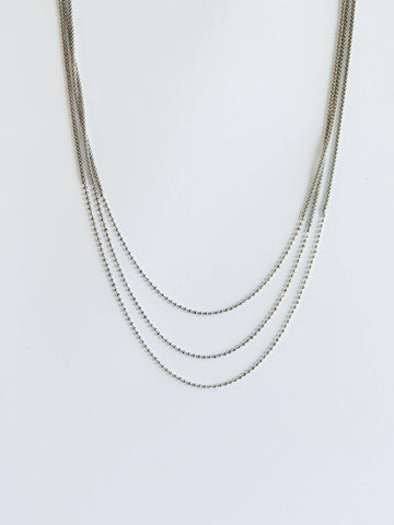 Celina Silver Necklace - Amillis