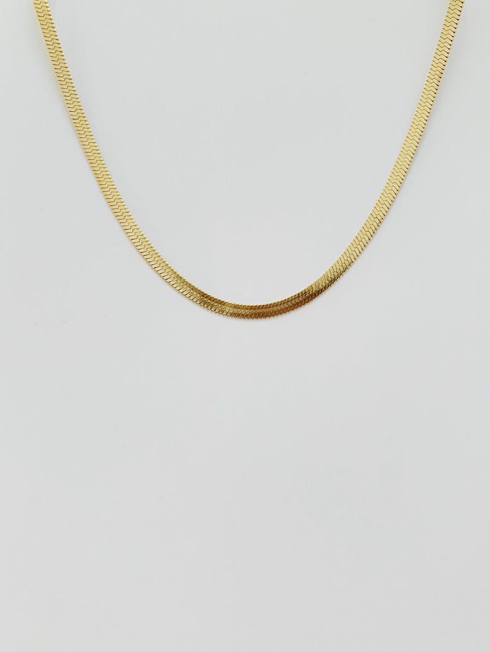 Lind Gold Necklace