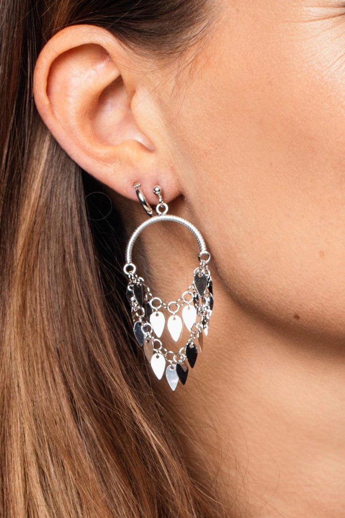Liv Silver Earrings