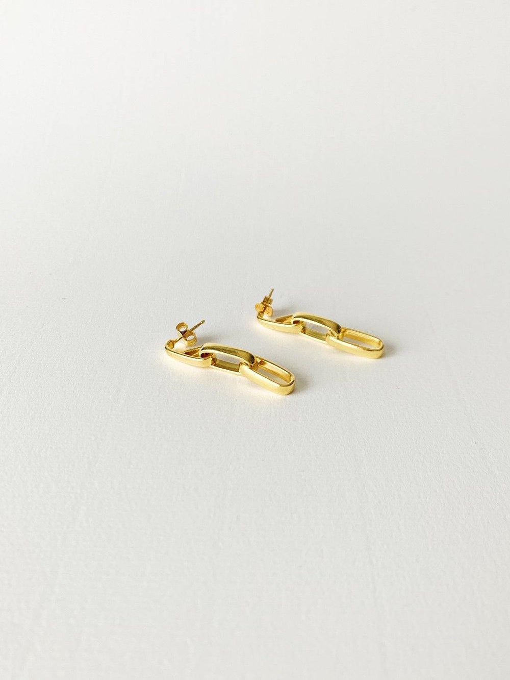 Carla Gold Earrings - Amillis