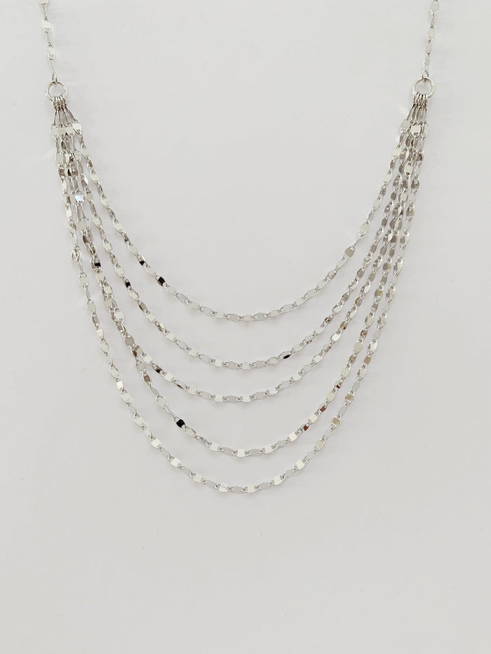 Victoria Silver Necklace