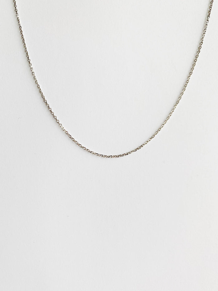 Anna Silver Necklace - Amillis
