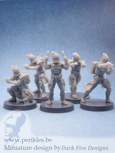 Multipart ARC Genetic Soldier Squad