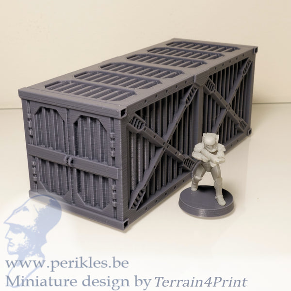 SciFi Container (28mm - 35mm terrain)