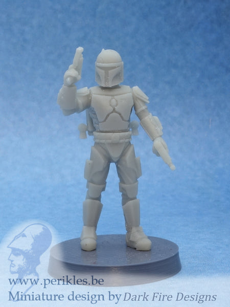 Multipart Crusader Squad (5x 35mm wargaming miniatures)