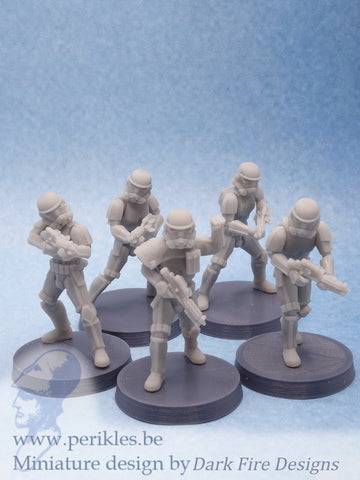 Multipart Shadow Imperium Troopers