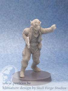 Insurgent Field Commander (35mm wargaming miniature)