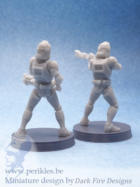Genetic Soldiers Phase II Specialists