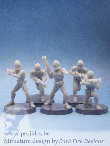 Multipart Phase II Genetic Soldier Squad
